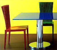 Цветные сны от EDRA. Мебельная выставка SALONE DEL MOBILE 2005.
